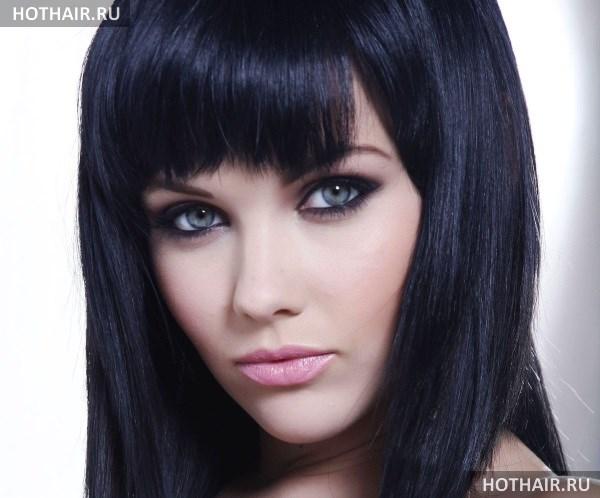 Черный цвет волос - кому идет, как покрасить в домашних условиях и как смыть? Краски и оттенки