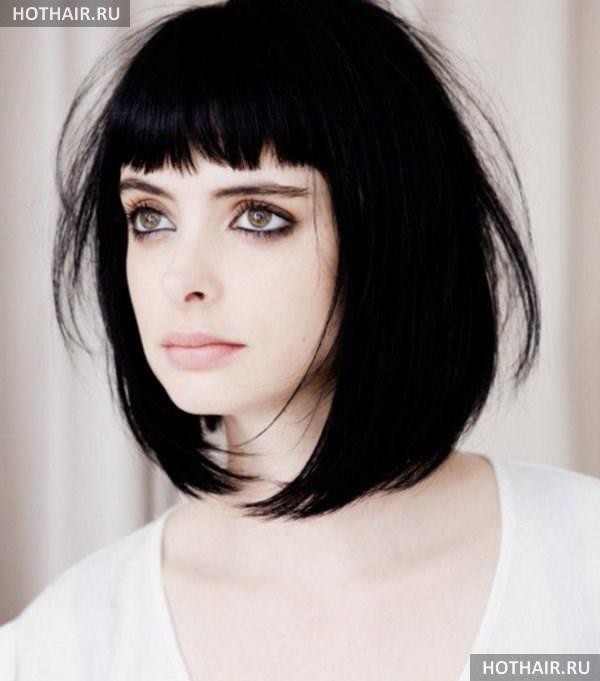 Стрижки средние волосы