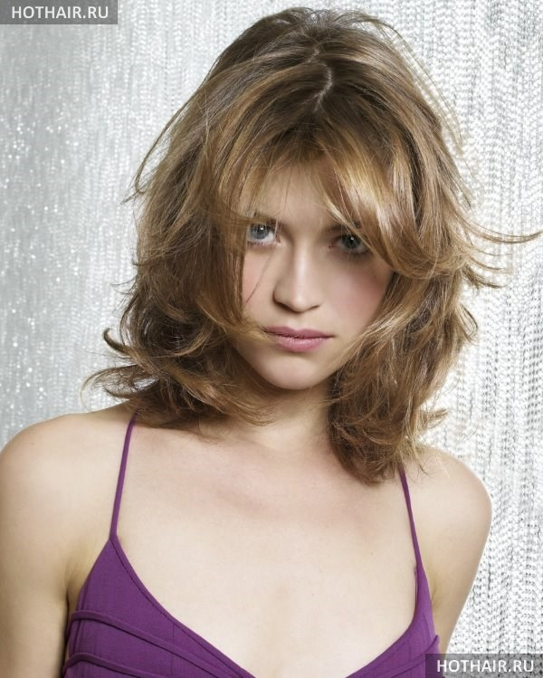 Прическа на тонкие редкие волосы