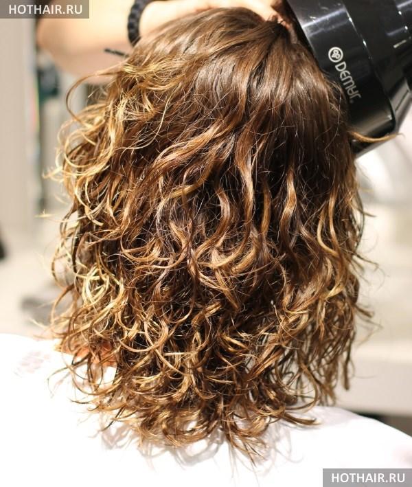 Химическая завивка волос: виды завивок (фото)   709x600