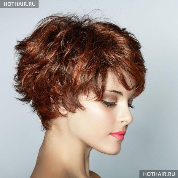 Креативное окрашивание на короткие волосы
