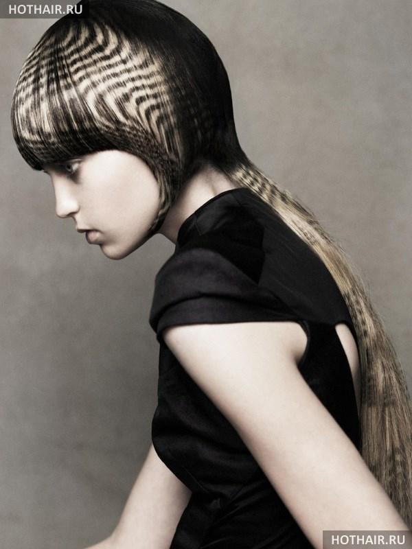 Двойное окрашивание волос
