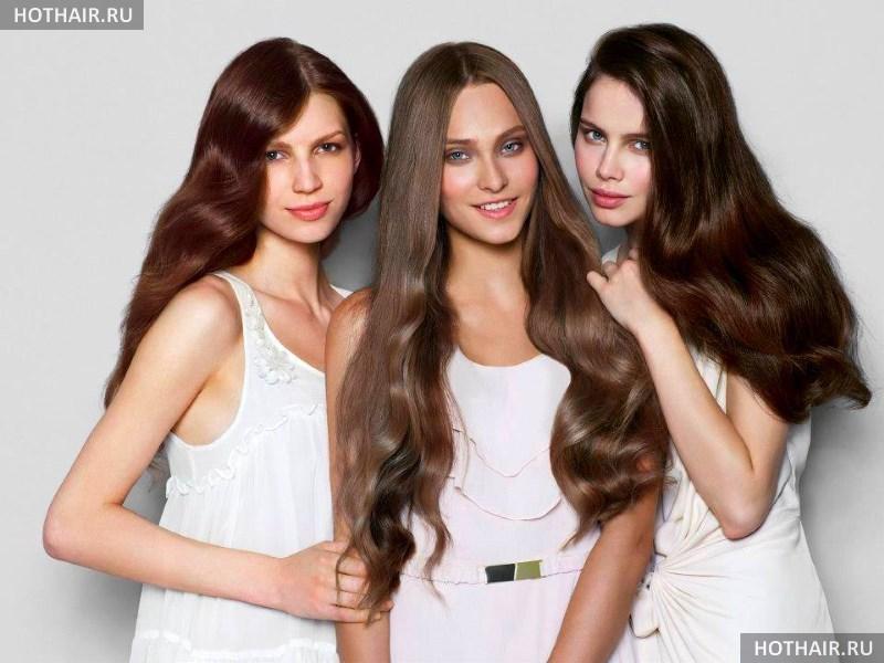 Кому идет каштановый цвет волос?